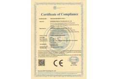 Certificate of CompIiance2